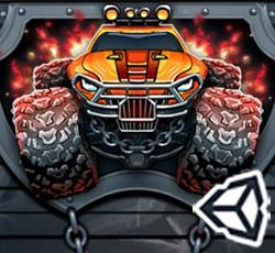 Monster's wheels game