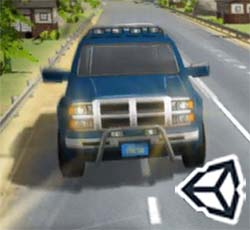 Traffic road game