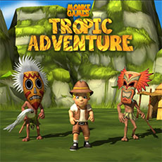Tropic adventure game